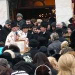 """Peste 500 de credincioși ortodocși au luat astăzi aghiazmă de la Catedrala """"Adormirea Maicii Domnului"""""""