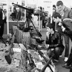 Delegaţie de la Fabrica de arme Cugir la Târgul de Arme de la Nurnberg