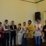 Elevii şcolilor cugirene l-au sărbătorit pe Ion Creangă