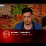 Convins că va fi eliminat din concursul MasterChef, șansa i-a surâs cugireanului Mihai Toader
