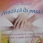 Spectacol caritabil organizat la Casa de Cultură din Cugir