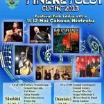 """S-au stabilit ultimele detalii ale festivalullui de folk """"Zilele Tineretului"""" care va avea loc la Cugir în 11 si 12 mai"""