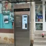 Primul automat de comercializare a laptelui crud a fost inaugurat astăzi la Cugir