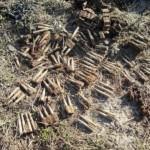 Muniţie rămasă din al doilea război mondial descoperită sub gardul unei grădini din Ceru Băcăinți