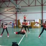 """La Festivalului Internaţional de Dans şi Gimnastică de la Baraolt-Covasna, """"Panterele Negre"""" din Cugir au uract pe podium"""
