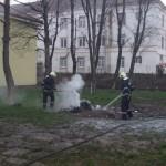 """La Colegiul Tehnic """"I.D. Lăzărescu"""" din Cugir a avut loc astăzi o simulare de incendiu"""