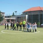 Etapa a V-a a Campionatului Speranţelor la fotbal s-a desfășurat ieri la Cugir