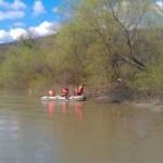 Trupul neînsuflețit al tânarului dispărut ieri în râul Mureș la Vințu de Jos a fost recuperat astăzi de pompieri