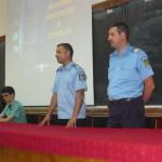 """Campanie de informare a jandarmeriei Alba la Colegiul National """"David Prodan"""" din Cugir"""