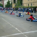 Piloţii Clubului Copiilor din Cugir, pe podiumul Campionatului Naţional de Karting Şcolar