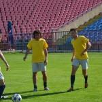 CSO Cugir a efectual antrenamentul oficial cu 24 de ore înaintea barajului, pe stadionul din Oradea