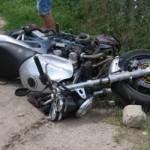 Un motociclist a fost acroșat de un șofer neatent, la Cugir
