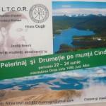 Invitaţie la pelerinaj şi drumeţie pe munţii Cindrel din partea Ligii Tinerilor Creştini Ortodocşi din Cugir
