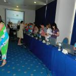 Profesoara Maria Nicoară din Cugir la cursul pe teme de interculturalitate din Portugalia