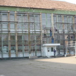 """Au început lucrările de reabilitare termică la Colegiul Național """"David Prodan"""" din Cugir"""