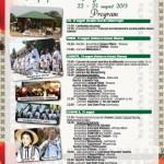 Programul celei de-a doua ediții a Festivalului Naţional de Dansuri şi Tradiţii Populare de la Vinerea