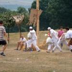 Jocurile sportive organizate în cadrul Festivalul Naţional de Dansuri şi Tradiţii Populare de la Vinerea au atras sute de tineri