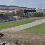 Stadionul CSO pe care va evolua Metalurgistul Cugir în Liga a III-a este în curs de modernizare