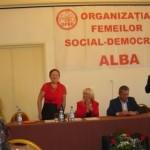 Dr. Julieta Isarie realeasă în funcţia de preşedintă a femeilor social-democrate din Cugir