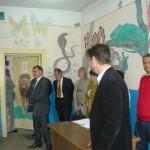 """Școala profesională de la Colegiul Tehnic """"I.D. Lăzărescu"""" din Cugir a fost vizitată astăzi de secretarul de stat Stelian Fedorca"""