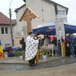 Slujbă de sfințire și parastas de pomenire la Troița ridicată în piața veche a orașului Cugir