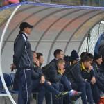 După ce jucătorul D. Lupşan a fost lovit de preşedintele Pahone, antrenorul Marius Opric a demisionat de la Metalurgistul Cugir
