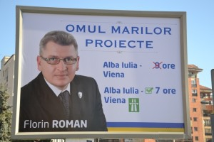 Florin Roman panou Alba Iulia