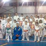 Karatiștii cugireni s-au clasat pe primul loc la etapa județeană a Campionatului Național