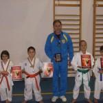Cugirul are doi vicecampoini mondiali la karate la categoria de vârstă 6-7 ani