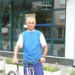 Cugireanul Vasile Harjoc cu bicicleta prin Brazilia