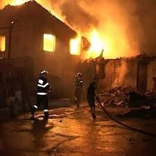 Incendiu devastator la Cugir