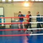 Undă verde pentru boxul cugirean, secţia de box a CSO Cugir a fost dotată cu un ring profesional