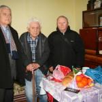 În prima zi a anului trei veterani de război au primit onoare și respect din partea Asociației PRO-Cugir