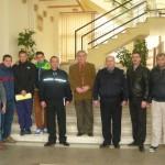 Dialog între jandarmi și reprezentanţii galeriei echipei Metalurgistul Cugir cu privire la combaterea violențelor în sport