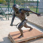Cugireanul Sorin Bărăştean i-a făcut statuie tenismanului Ilie Năstase