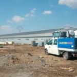 Ritm susţinut pentru finalizarea investiţiei la maternitatea de purcei din Şibot