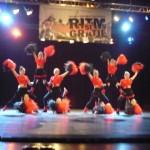 """""""Panterele Negre"""" din Cugir pe prima treaptă a podiumului Festivalului Naţional de Gimnastică şi Dans de la Botoşani"""