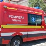 6 persoane au ajuns la spital după ce un microbuz s-a răsturnat între Cugir și Șibot