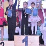 La doar 5 ani dansatorul Eric Prodan din Cugir se dovedește a fi un sportiv extrem de talentat