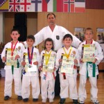 Karatiştii cugireni au cucerit podiumul Campionatului European