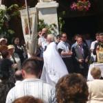 """Peste 400 de credincioși au fost prezeni la Slujba de Rusalii de la Biserica """"Adormirea Maicii Domnului"""" din Cugir"""