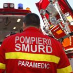 Doi tineri din Cugir răniți după ce s-au răsturnat cu mașina pe DJ 704