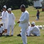 """Echipa """"Bătălii"""" din Vâlcea învingătoarea Jocurilor sportive tradiționale din cadrul Festivalului național de dansuri și tradiții populare de la Vinerea"""