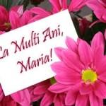 Mesaje, SMS de felicitare și urări de SFÂNTA MARIA 2014 | cugirinfo.ro