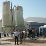 """Pe """"Câmpul Pâinii"""" din Şibot, o investiţie de aproape 2 milioane de euro, destinată reproducţiei purceilor"""