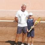 Cugireanul Lucian Codea – în topul întrecerilor naţionale de tenis