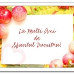 MESAJE de SFANTUL Dumitru 2014: Felicitări, urări, SMS-uri pe care le poți trimite celor care își sărbătoresc onomastica | cugirinfo.ro