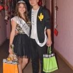 """Câștigătorii titlurilor de Miss şi Mister Boboc 2014 ai Colegiului Tehnic """"I.D. Lăzărescu"""" sunt Diana Tomuţa şi George Enache"""