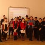 """Omagiu adus poetului național Mihai Eminescu de către elevii Şcolii Gimnaziale """"Singidava'' din Cugir"""
