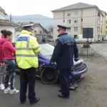 Cugirean rămas fără permis după ce nu a acordat prioritate și a provocat un accident de circulație